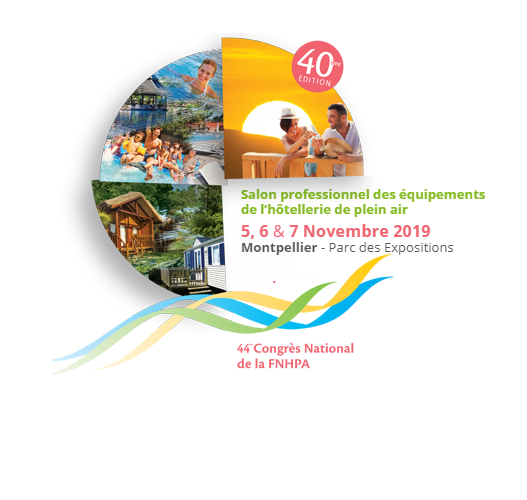 DUTRIE SAS sera présent au Salon professionnel des équipements de l'hôtellerie de plein air  5, 6 & 7 Novembre 2019 Montpellier – Parc des Expositions