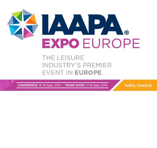 DUTRIE SAS sera présent au IAAPA Expo Europe / 17-19 sept 2019 Paris Porte De Versailles