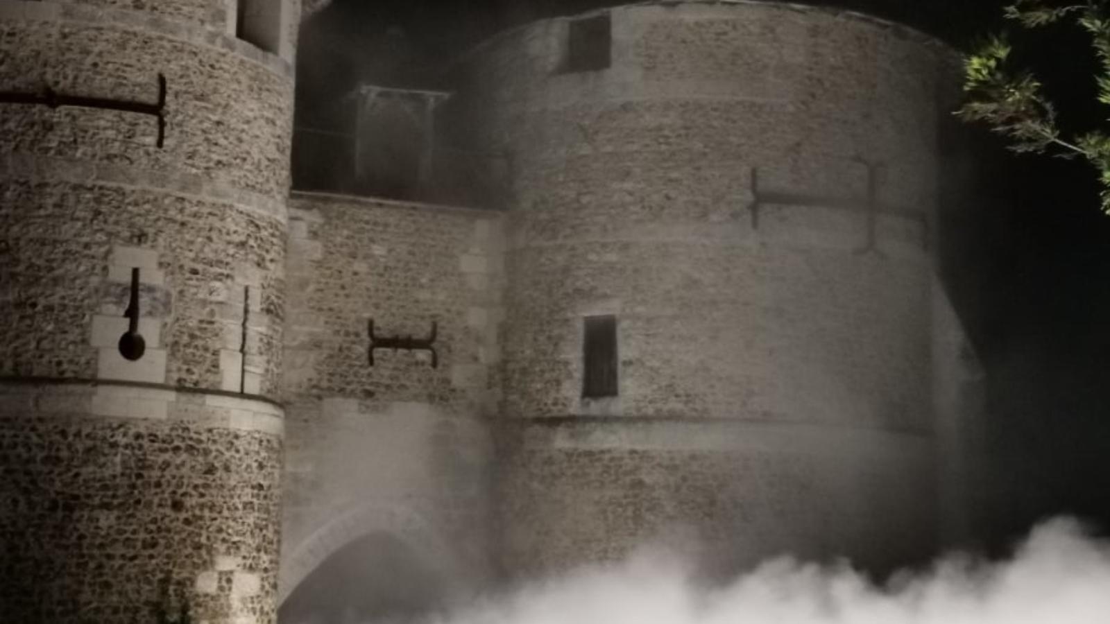 DUTRIE SAS - THE FOG SYSTEM -DUTRIE SAS installe le système de brumisation du château d'Harcourt pour les journées du patrimoine
